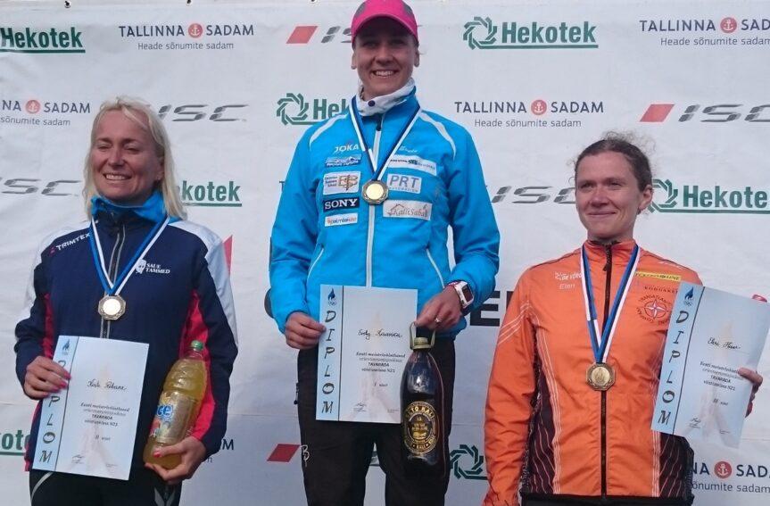Evely Kaasiku ja Timo Sild tulid veenva eduga Eesti meistriteks