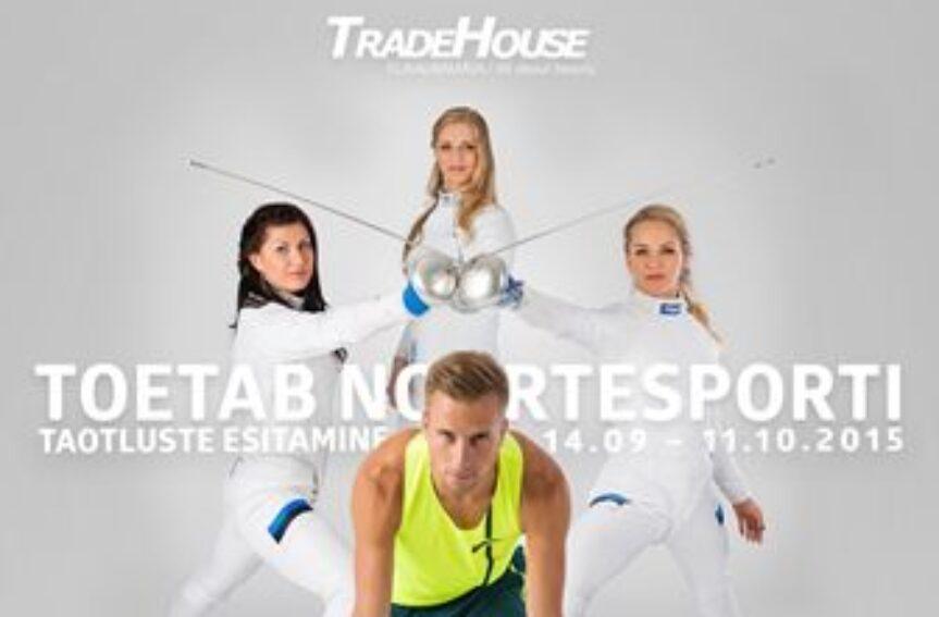 Tradehouse Ilukaubamaja toetab taas noorsportlasi teel tippu