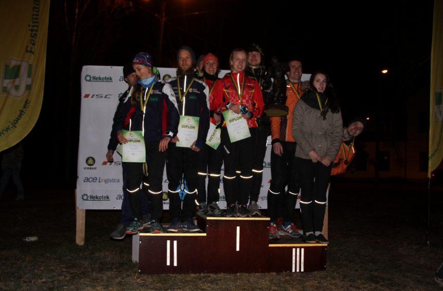 Jüriööjooksu võitis KJSK Kape  ühendvõistkond
