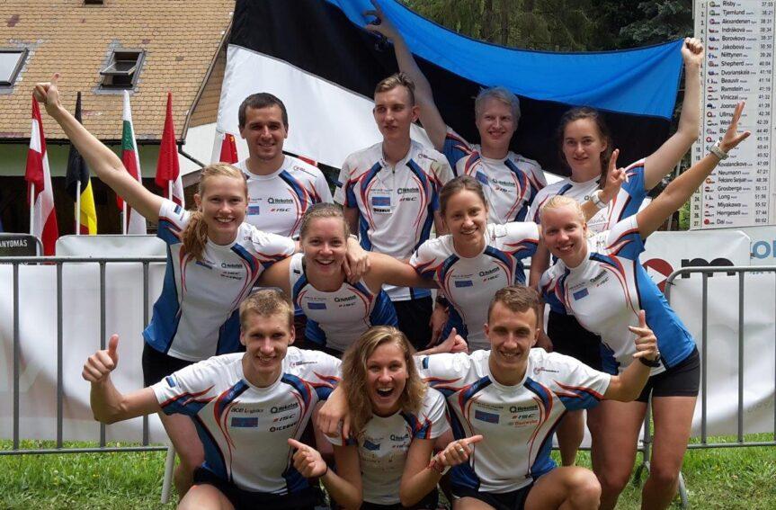 Eesti tudengid tegid MMil tugevad teatejooksud
