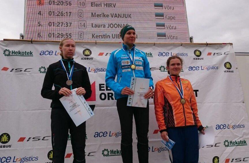Eesti meistrid tavarajal on Evely Kaasiku ja Lauri Sild