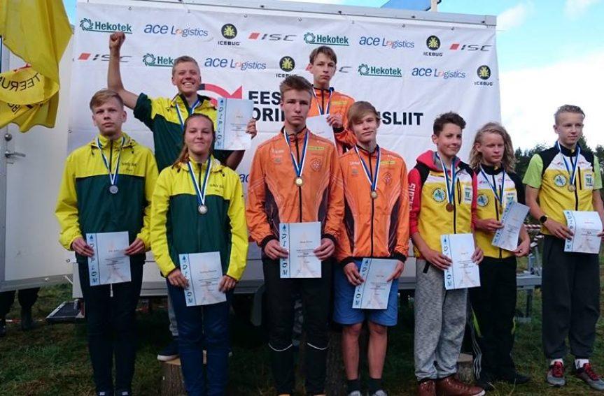 Kammeris metsas selgusid Eesti meistrid noorte ja veteranide seas