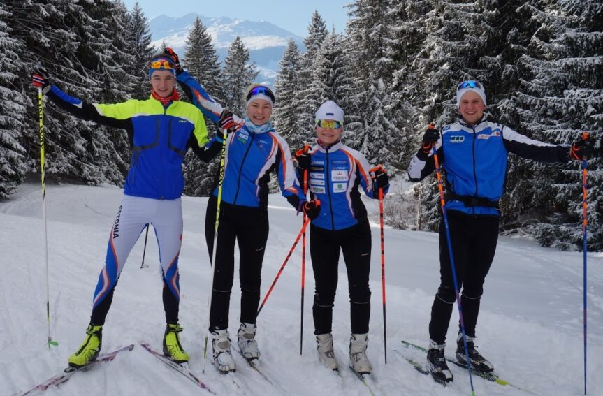 Eesti suusaorienteerumise tipud võistlesid Davosis