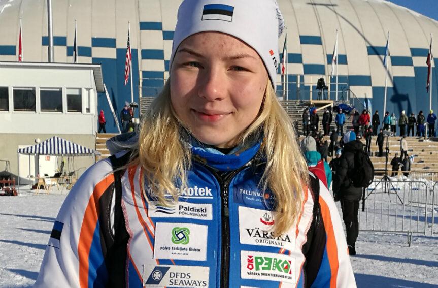 6. koha saavutanud Doris Kudre lõpuheitlusest: silme eest oli must