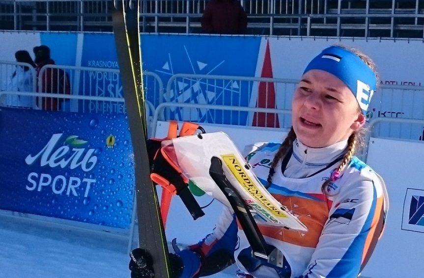 Daisi Kudre sai suusaorienteerumise MMi lühirajal 15. koha