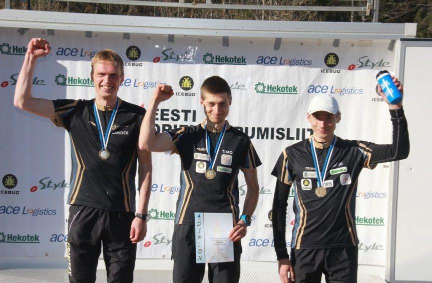 Eesti meistrid lühirajal on Timo Sild ja Evely Kaasiku