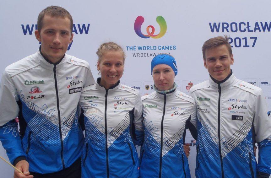 Maailmamängude sprindis eestlased edukad ei olnud