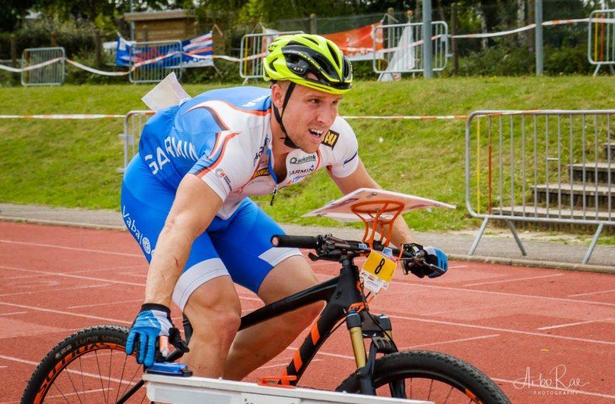 Lauri Malsroos võitis rattaorienteerumise EMil teise hõbemedali!