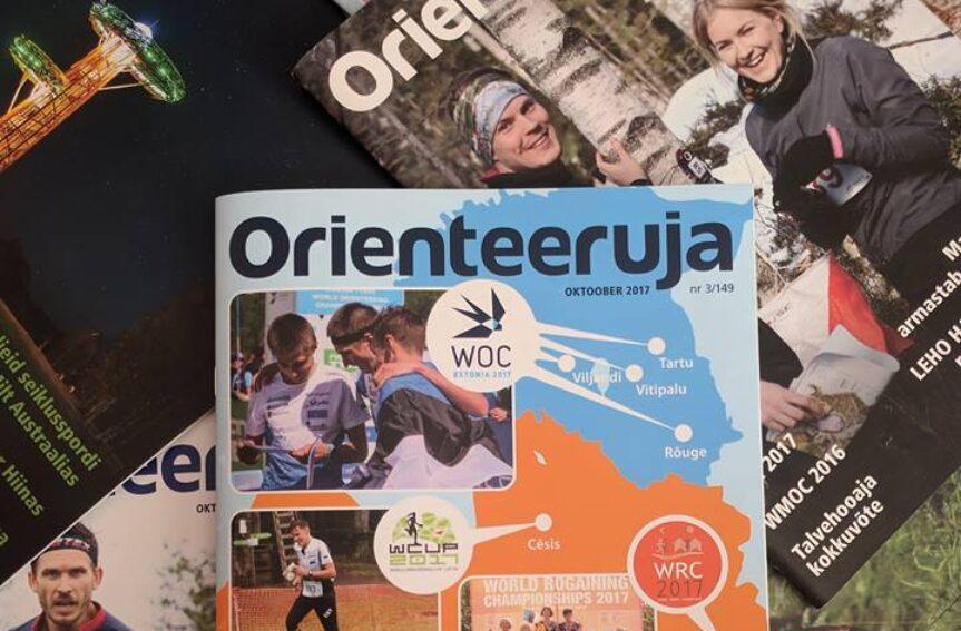 Panusta ajakirja Orienteeruja läbi aegade viimasesse numbrisse!