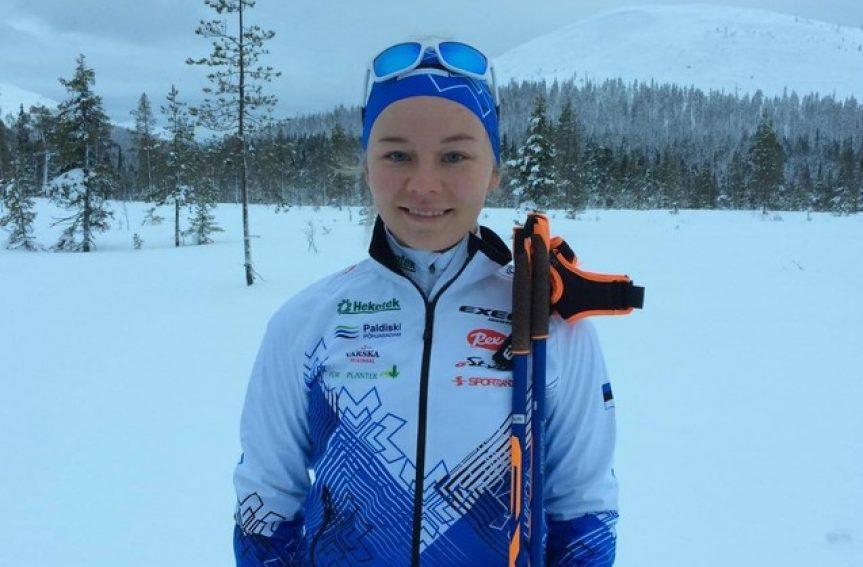 Daisy Kudre teenis suusaorienteerumise MK-etapil 13. koha