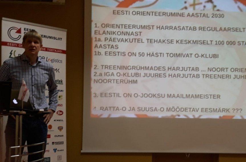Orienteerumine Eesti rahvusspordiks!