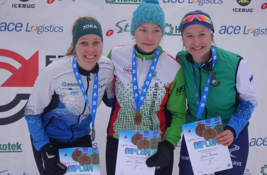 Favoriidid võidutsesid Eesti MV-l suusaorienteerumise lühirajal