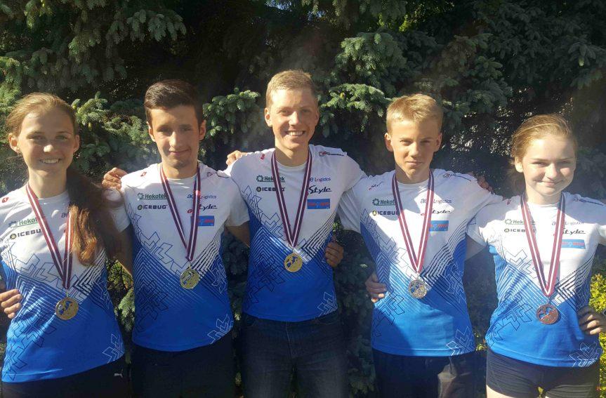 Eesti noororienteerujatele Balti meistrivõistlustelt viis medalit