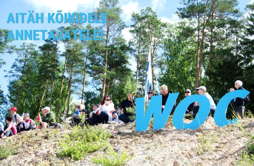 Eesti Orienteerumisliit tänab kõiki annetajaid