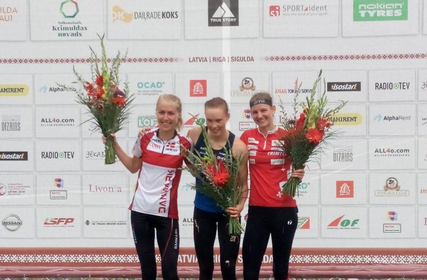 Annika Rihma MM-tavarajal 20., kuld Alexanderssonile