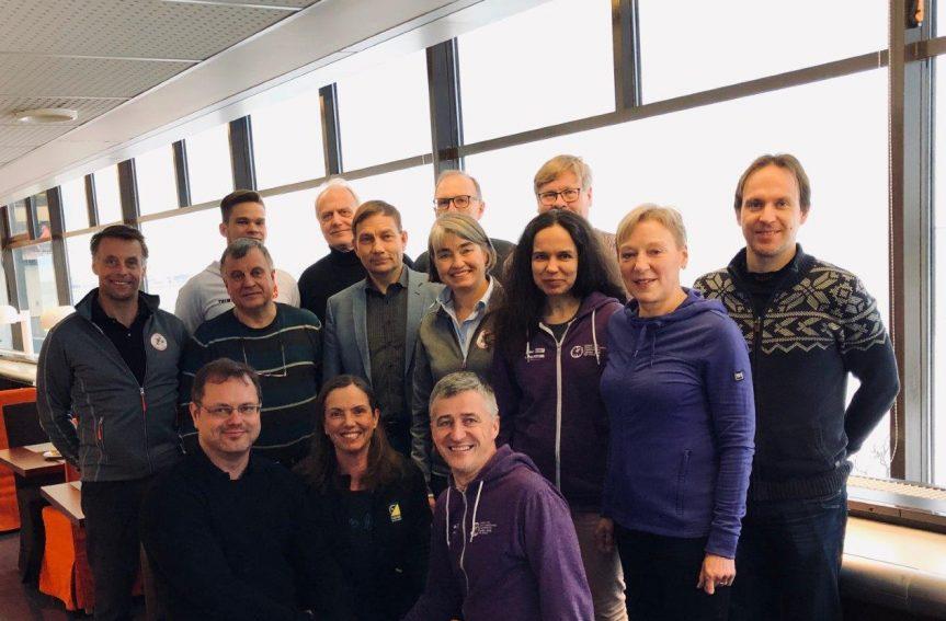 Põhjamaade orienteerumisliitude koosolek Tallinnas