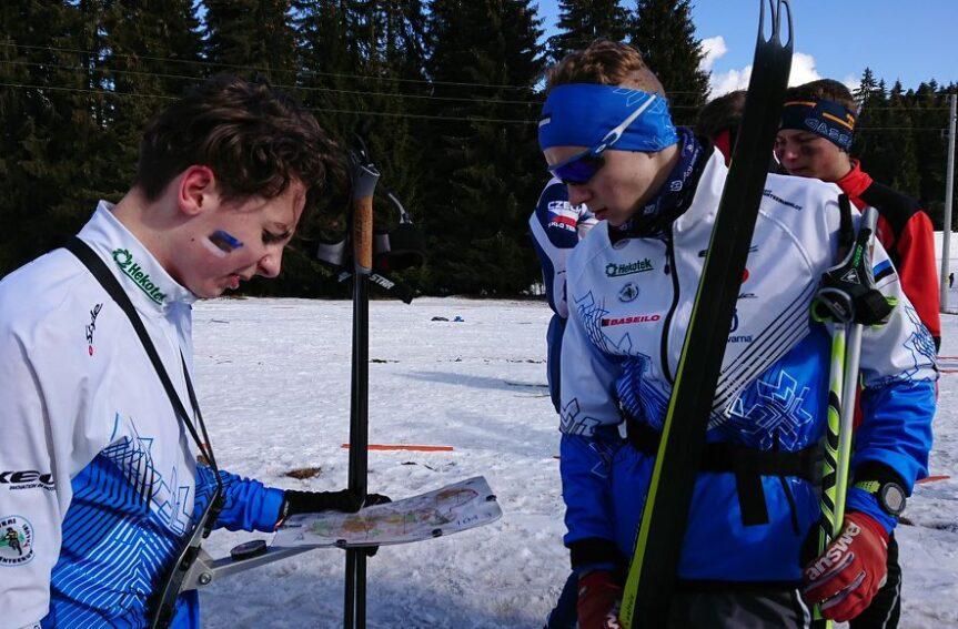Põhjamaade noored suusaorienteerujad võistlesid lühirajal