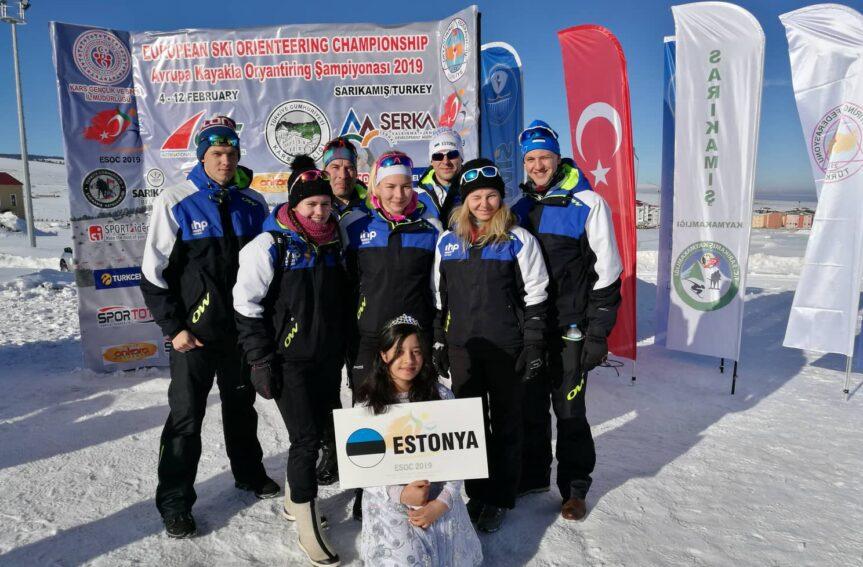 Türgis algab suusaorienteerumise EM