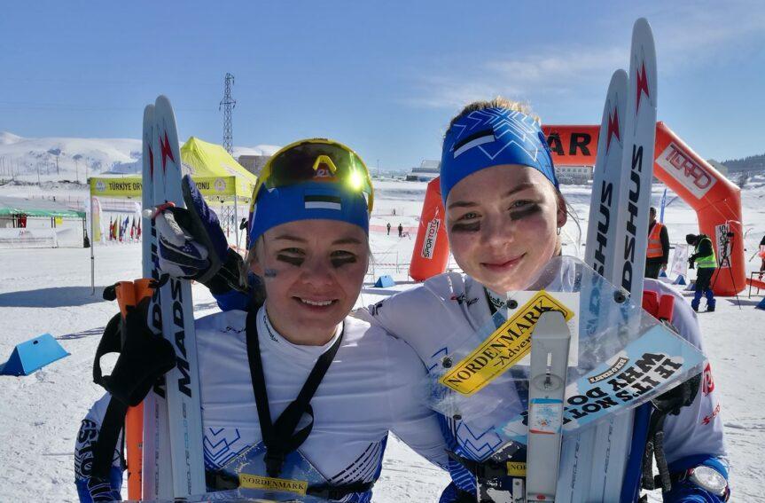 Kolm Eesti orienteerujat EM-sprindis teises kümnes