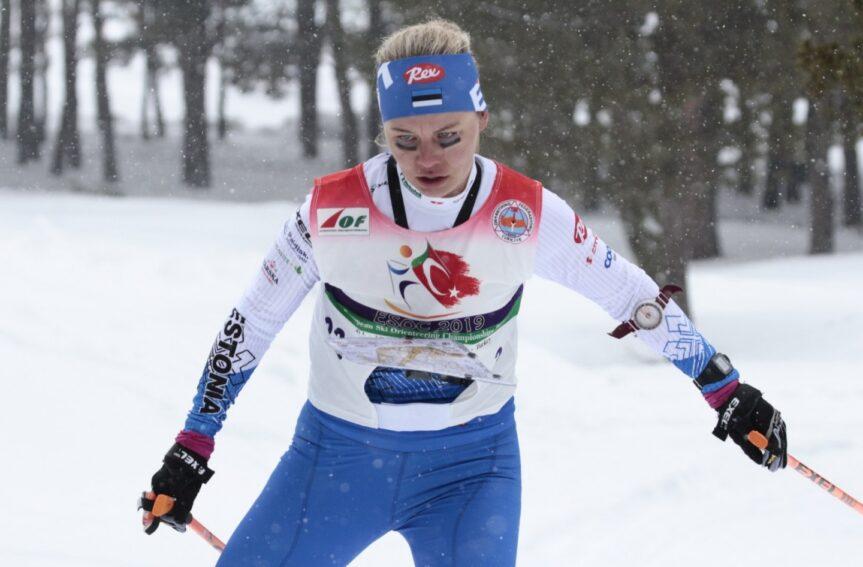 Daisy Kudre EM-tavarajal 14. kohaga Eesti parim