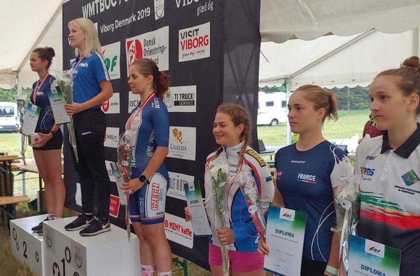 Rattaorienteerumise juunioride MM-il saavutas vaid 18-aastane Mari Linnus pikal rajal väga kõrge 4. koha