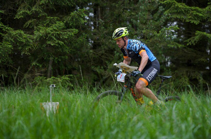 Rattaorienteerumise maailmameistrivõistlustel ühisstardiga sõidus eestlastele keskpärased tulemused