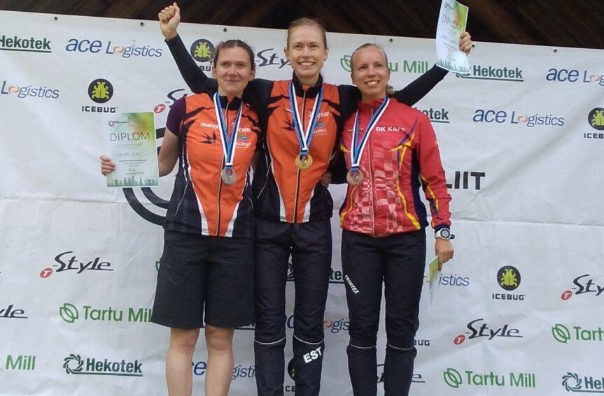 Eesti meistrid pikal rajal on Kerstin Uiboupin ja Andreas Kraas