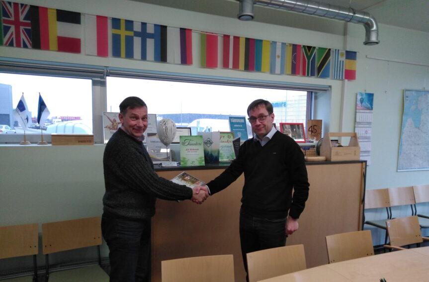 Eesti Orienteerumisliit uuendas lepingut AS Hekotekiga