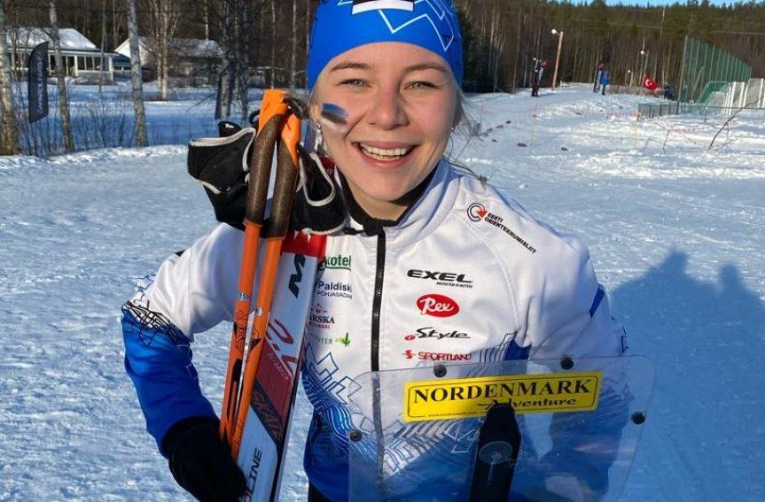 Daisy Kudre tegi elu sõidu ja võitis MK-etapi suusaorienteerumise tavarajal