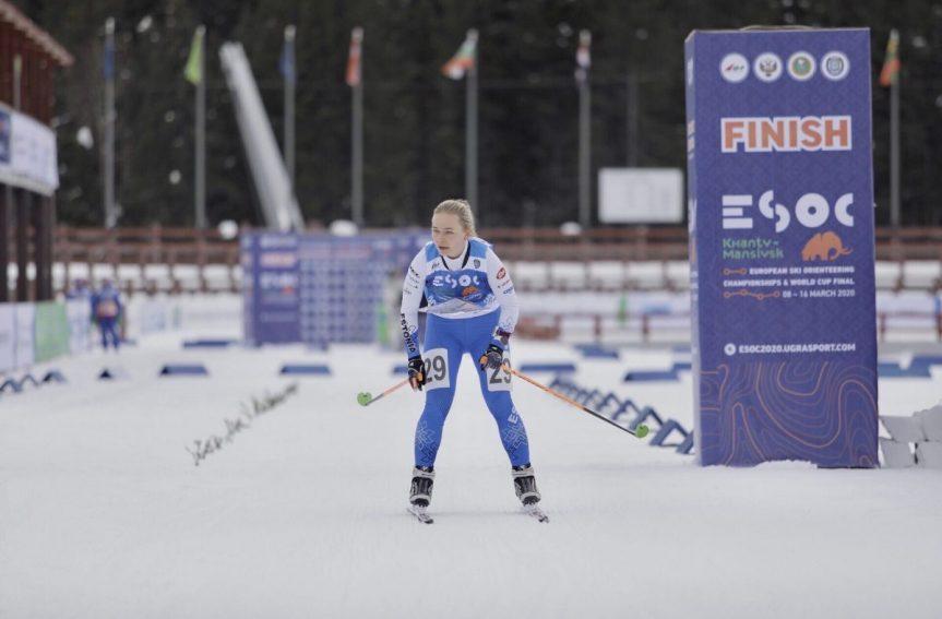 Daisy Kudre sai suusaorienteerumise EMi avadistantsil 10., Mattis Jaama 16. koha