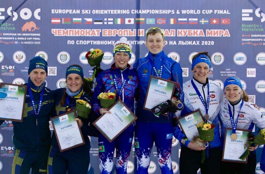 Eesti võitis suusaorienteerumise EMi sprinditeates pronksmedali