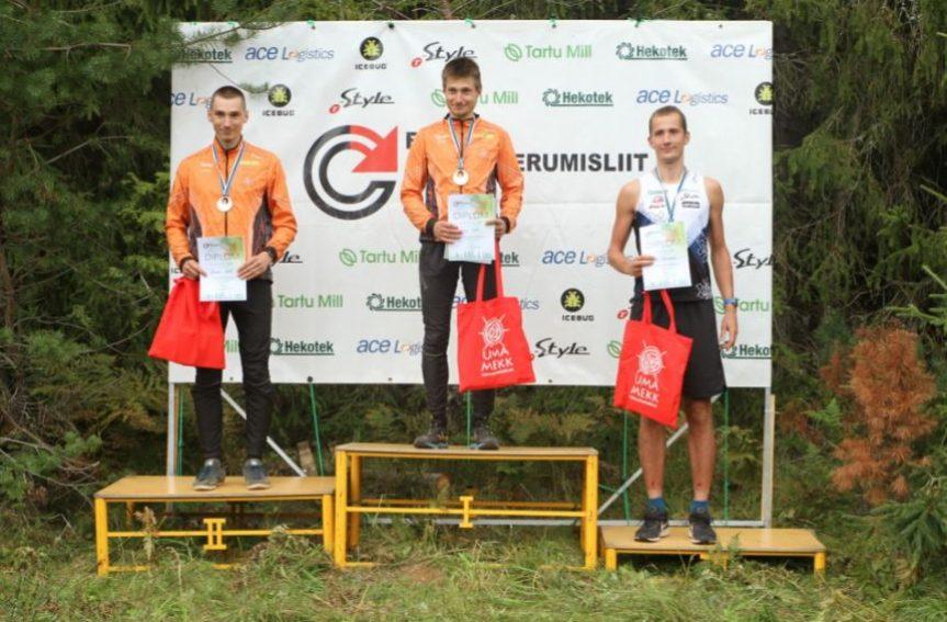 Eesti meistrid tavarajal on Evely Kaasiku (OK JOKA) ja Timo Sild (OK Võru)