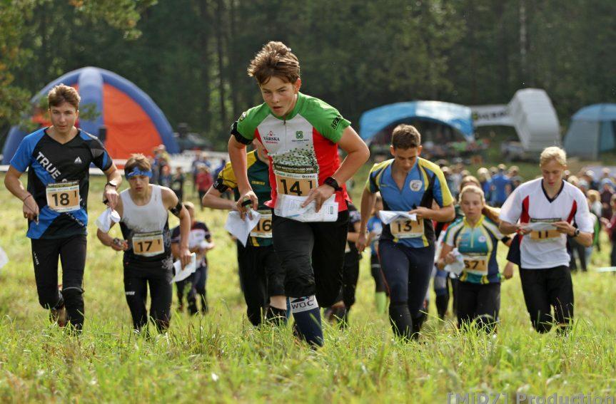 Eesti MV noorte- ja veteranide teate medalid jagunesid neljateistkümne klubi vahel