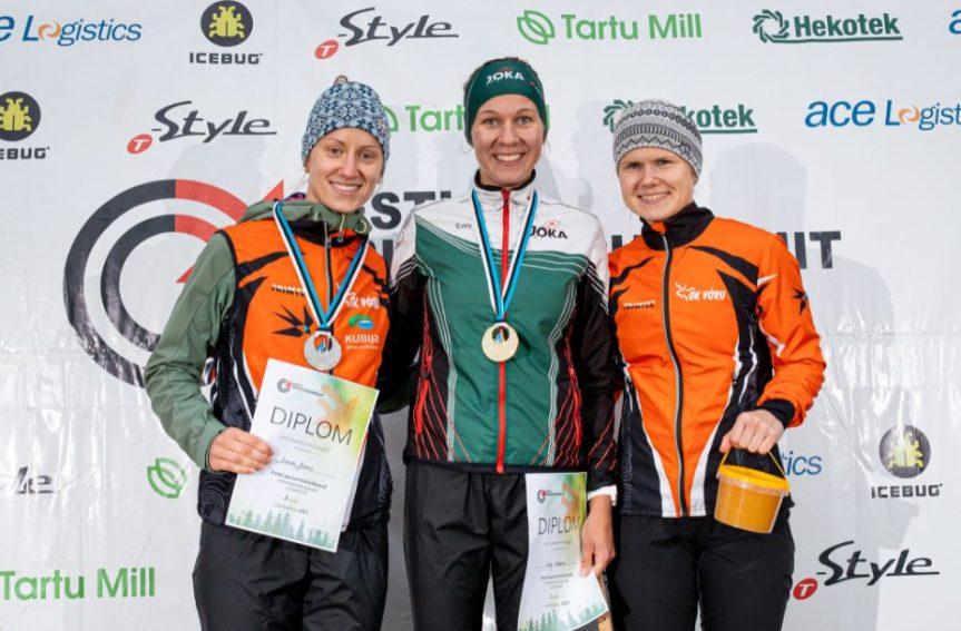 Eesti meister orienteerumisjooksu lühirajal naiste põhiklassis on Evely Kaasiku