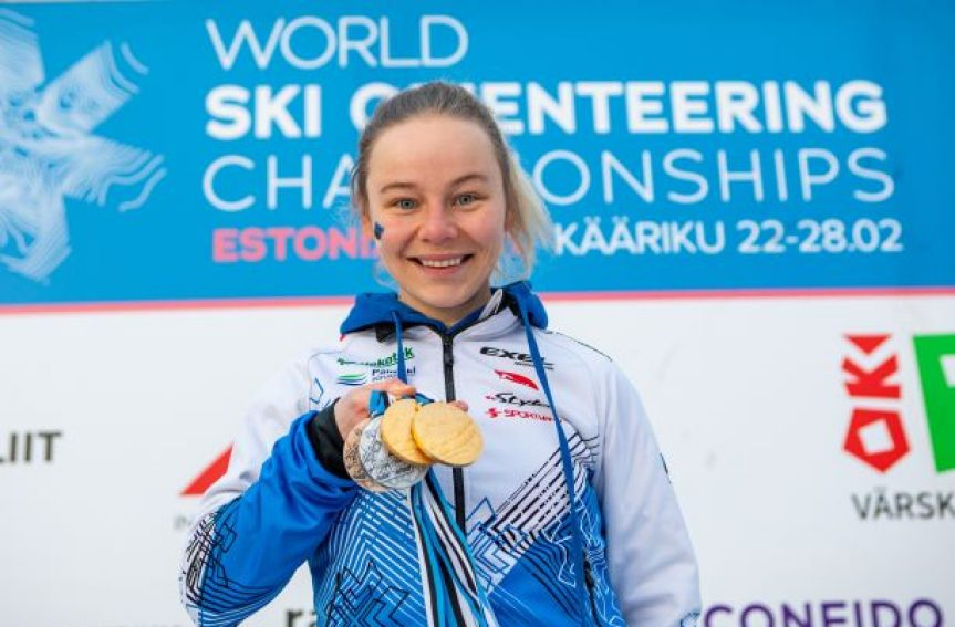 Eesti võitis suusaorienteerumise tiitlivõistlustelt kokku 9 medalit