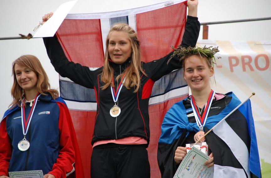 Sigrid Ruul tõi Eestile noorte EM-ilt pronksi