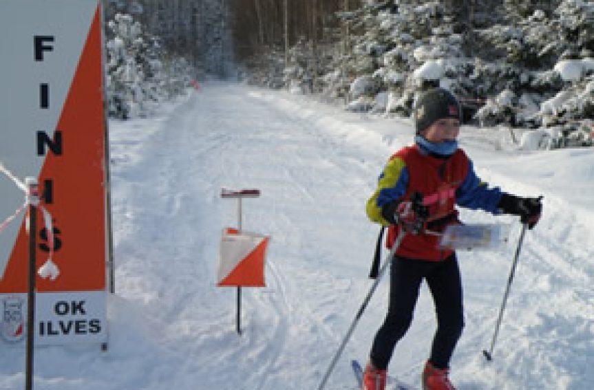 EOL suusaO noorte karikasarja avaetapid toimusid Lätimaal
