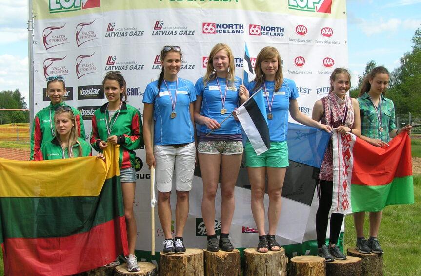 Eesti orienteerumiskoondis Balti meistrivõistlustel kolmas