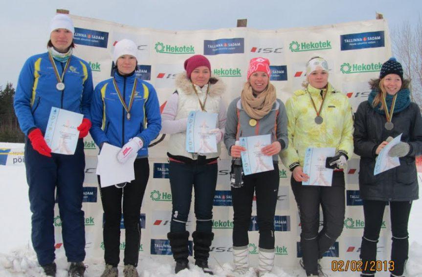 Savernas selgusid esimesed Eesti meistrid sprinditeates