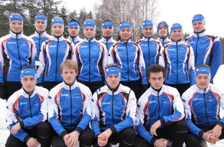 EOL ajaloo suurim suusaorienteerumiskoondis tiitlivõistlustele Lätis
