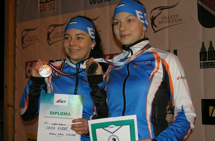 Daisy ja Doris Kudre võitsid Soome meistrivõistlused