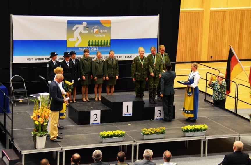 Eesti naiskond sõjaväelaste MM-teates hõbedal
