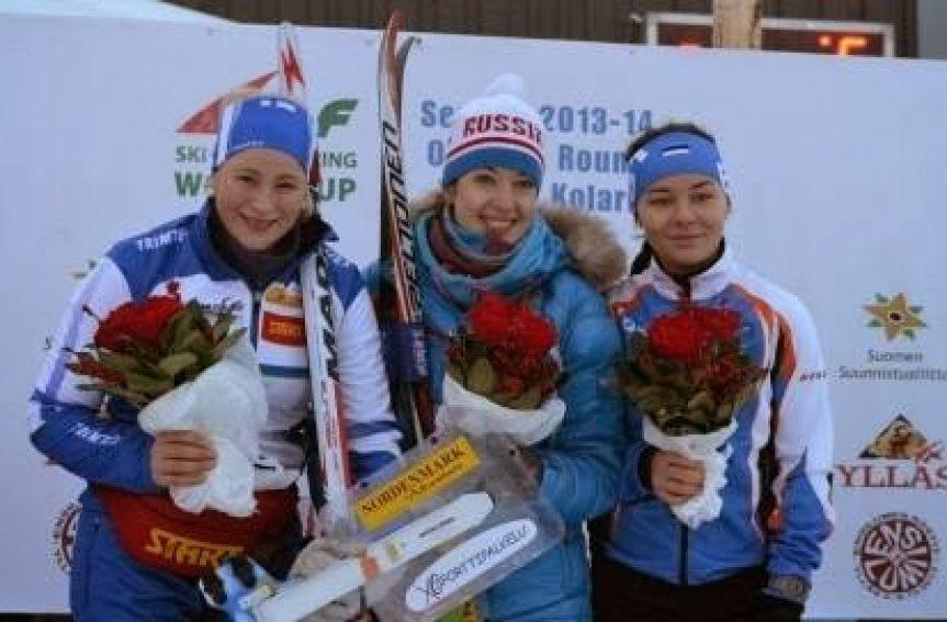 Daisy Kudre võitis suusaorienteerumise MK etapil 3. koha!