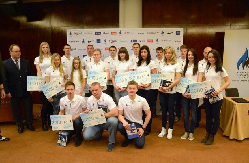 Daisy Kudre valiti Eesti Olümpiakomitee järelkasvukoondisesse