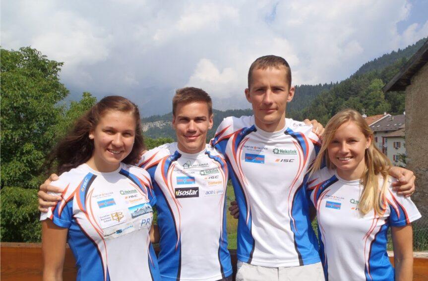 Eesti võistkond MM-il sprinditeates 23.