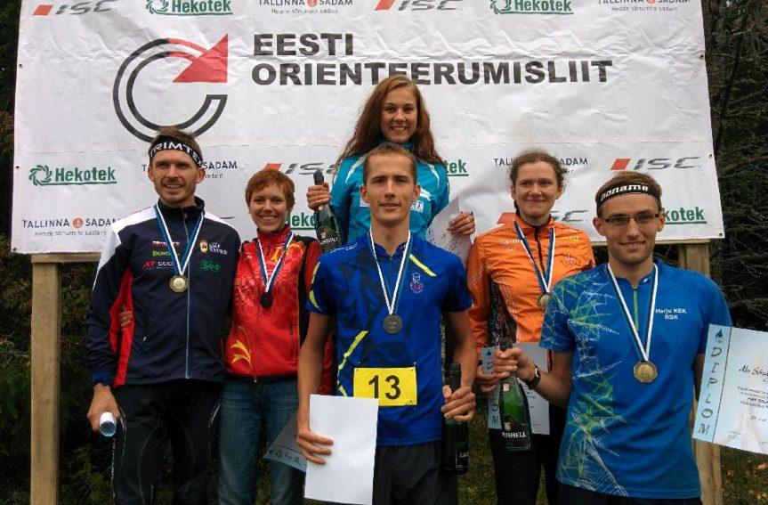 Eesti meistrid pikal rajal on Kristo Heinmann ja Evely Kaasiku