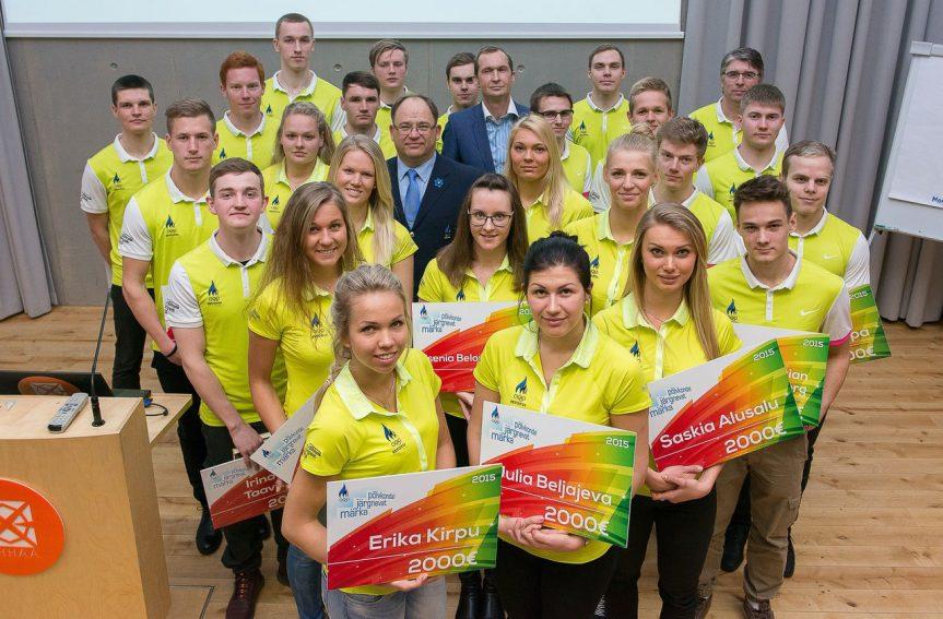 Evely Kaasikule EOK noore sportlase stipendium
