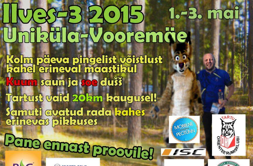Ilves-3 kutsub Unikülla ja Vooremäele!