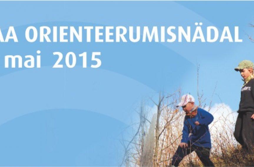 Eestimaa orienteerumisnädal 11.-17. maini!