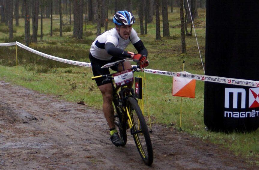 Lauri Malsroos tuli rattaorienteerumise Balti meistriks